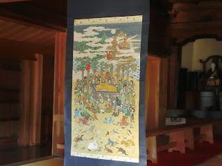 仏涅槃図(東慶寺)