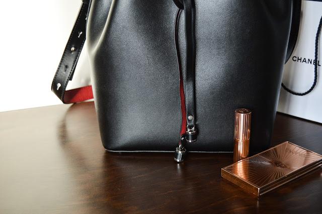 Mansur Gavriel Leather Bucket Bag Dupe Zara