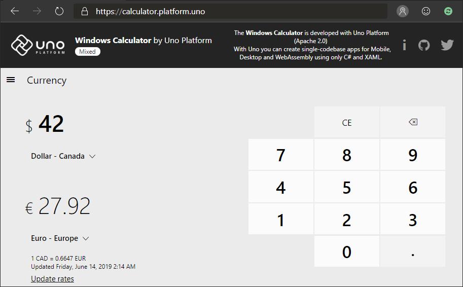 Calcolatrice-windows-10-sul-web