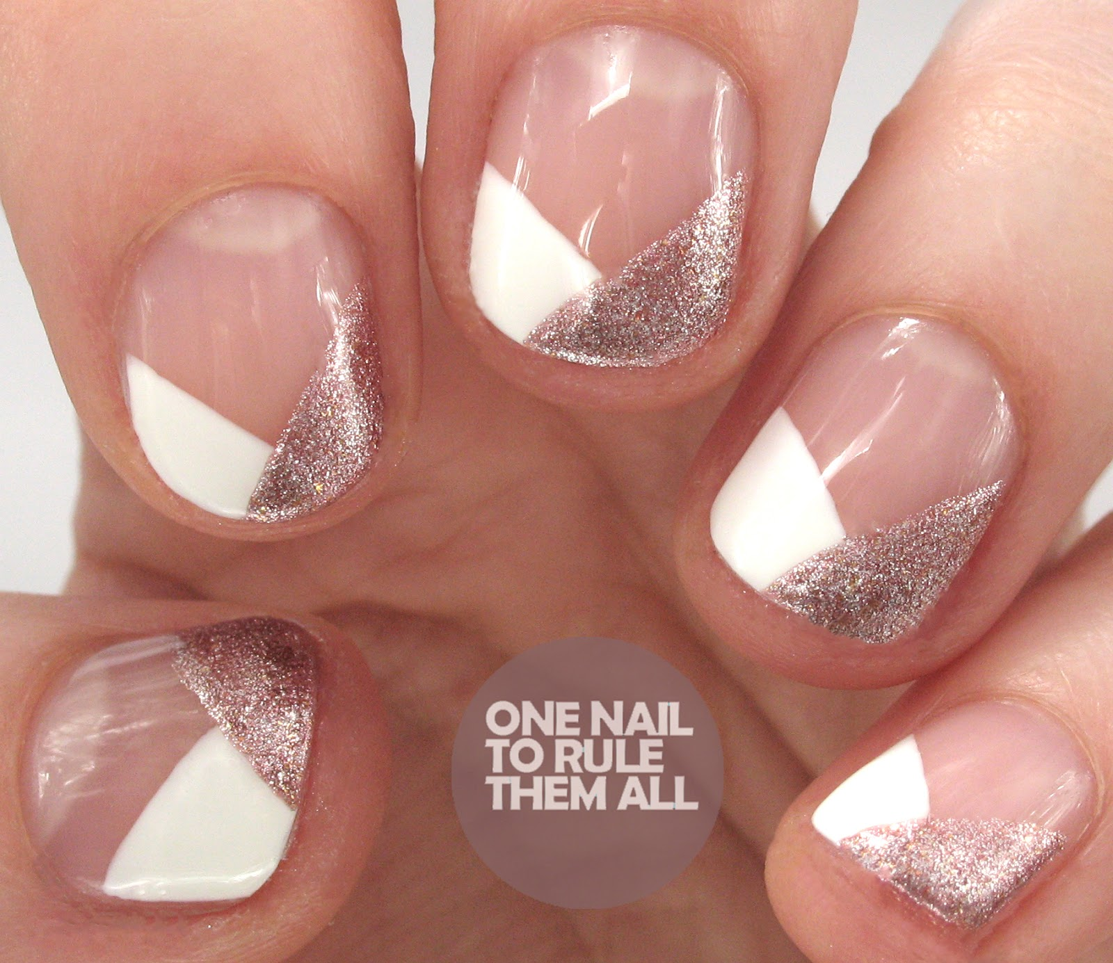 One Nail To Rule Them All Gelish Last Call Nail Art Review