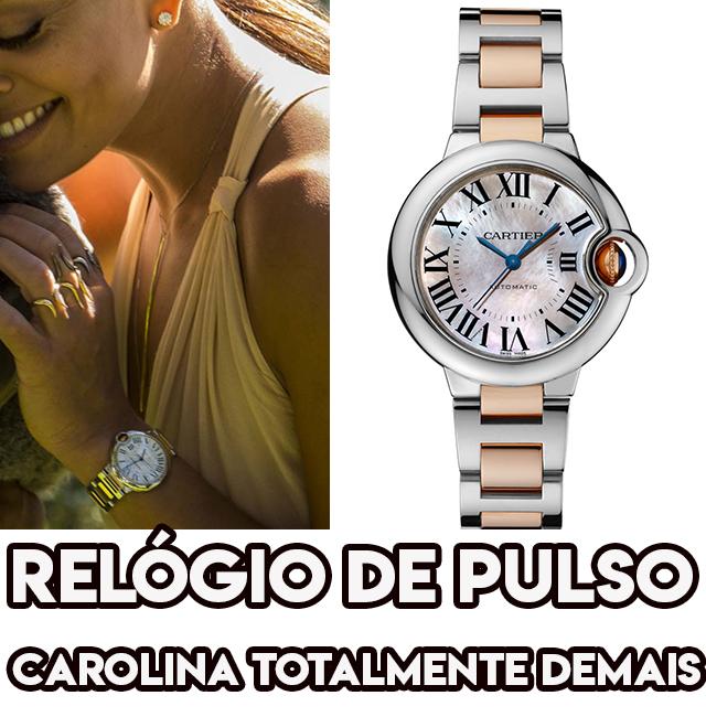 O relógio de pulso de Juliana Paes, a Carolina em Totalmente Demais