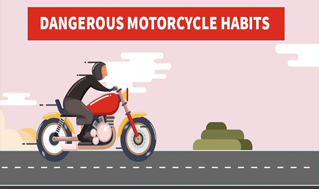 Dangerous Motorcycle Habits