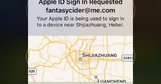 Your Apple ID's at risk