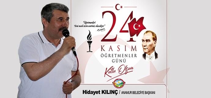Hidayet Kılınç, Anamur Belediyesi, Anamur Haber, Anamur, Anamur Son Dakika,