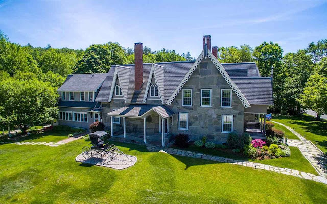 After Some Research I Discovered That This House Has Been Run As A Bed And Breakfast Restaurant Event Venue In Addition To The Listing Pictures