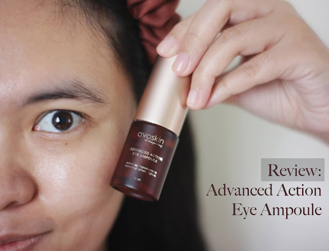 Avoskin Advanced Action Eye Ampoule Review