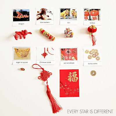 Chinese New Year Nomenclature Cards