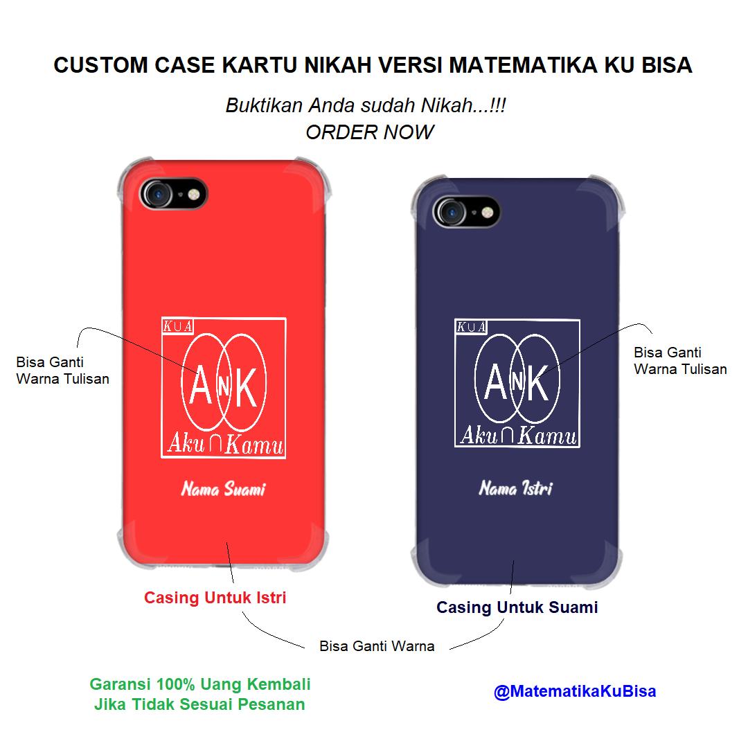 Custom Case Matematika