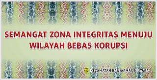 Zona Integritas Kecamatan Banjarmasin Utara
