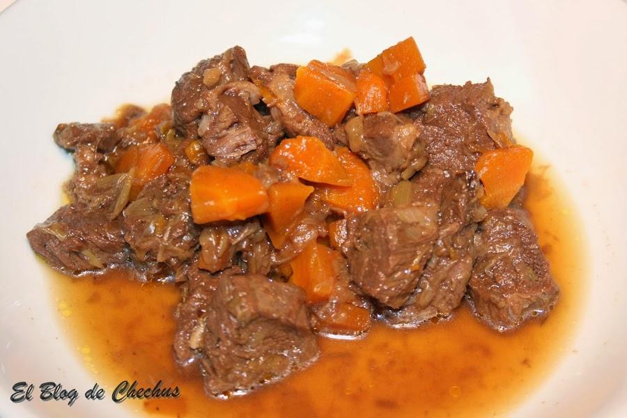 Estofado de Ternera, El Blog de Chechus, Estofado, Segundos platos