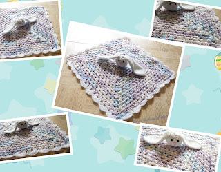 free crochet bunny lovey, free crochet bunny stuff toy,