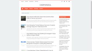 Nubie Fast Template Blogger Dengan Fast Loading,Responsive,Seo Friendly Terbaru 2019