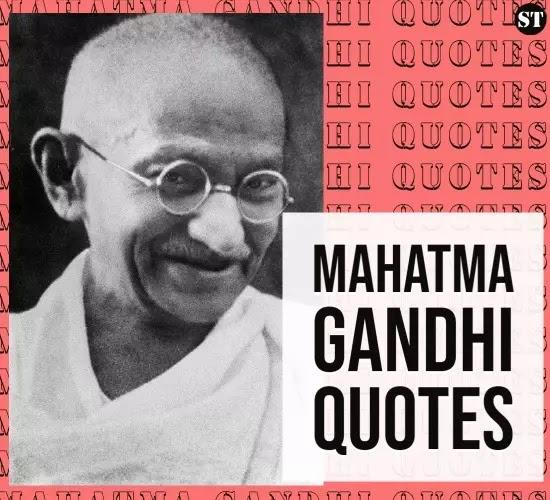 30+ महात्मा गांधी जी के अनमोल विचार [2020] mahatma gandhi quotes ,Thought , slogan