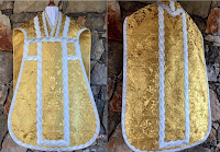 More on the Beauty and Nobility of Gold with Silver in Vestment Design