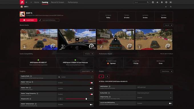 AMD merilis Radeon Software Adrenalin 21.4.1