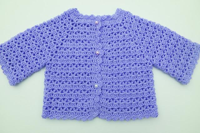 6 - Crochet Imagen Chaqueta muy fácil para todas las tallas a crochet y ganchillo (7)