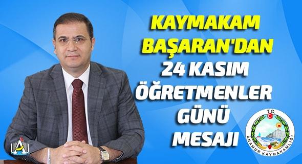 Anamur Kaymakamı Mehmet Nuri Başaran,Anamur Kaymakamlığı,Anamur Haber,Anamur Son Dakika,