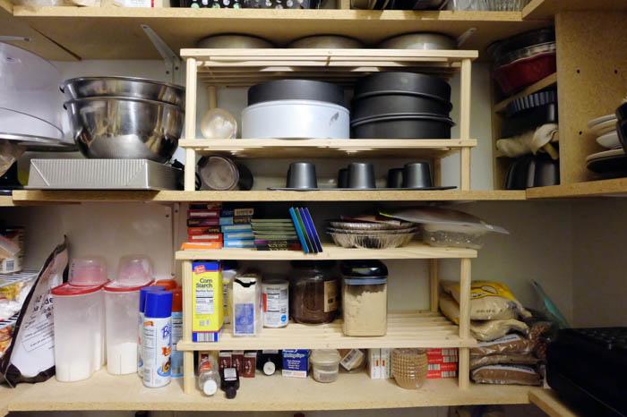 shoe rack pantry storage