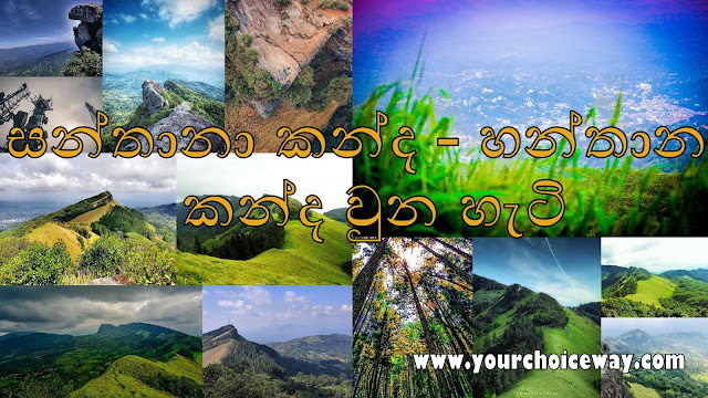 සන්තානා කන්ද - හන්තාන කන්ද වුන හැටි 🍃🌱🌸🍄🌕 (Hanthana Mountain)
