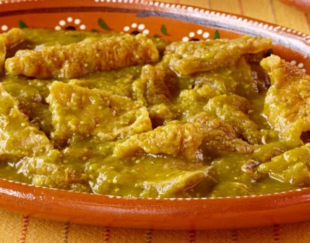 Para cuantas personas alcanza un kilo de chicharron en salsa verde