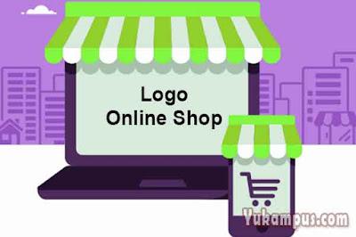 cara membuat logo online shop