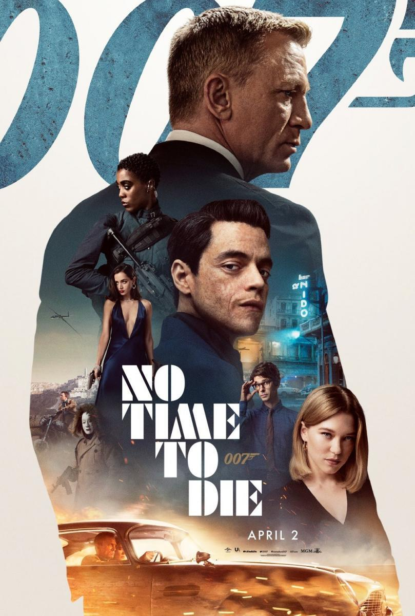 Download No Time to Die (2021) Full Movie in Hindi Dual Audio BluRay 480p [400MB]