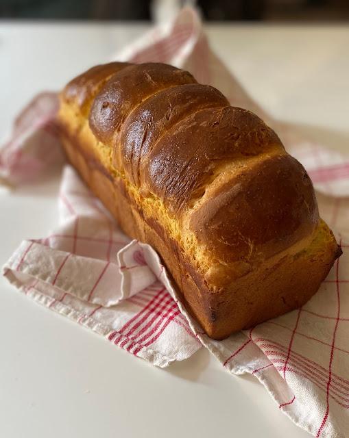 Toastbrot mit Polenta