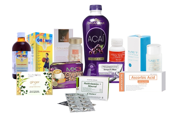 Watsons Products for Health & Wellness