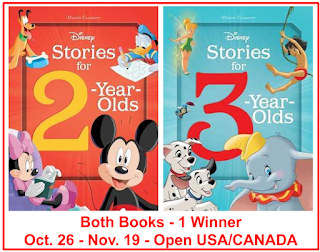 DISNEY STORIES FOR 1-YEAR-OLDS & 3-YEAR-OLDS