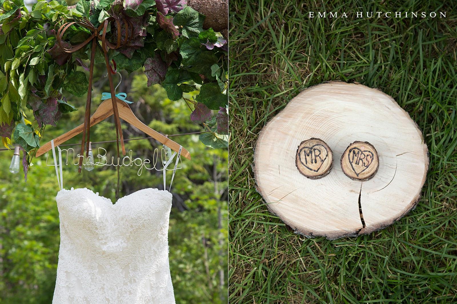 Newfoundland backyard wedding - Mr and Mrs