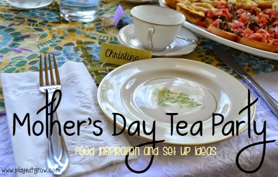 mother's day tea party cover