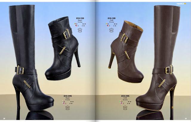 botas de moda para las damas terra