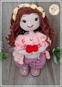 Boneca médica de crochê | Bonecas, Boneca medica, Bonecas de crochê | 306x219