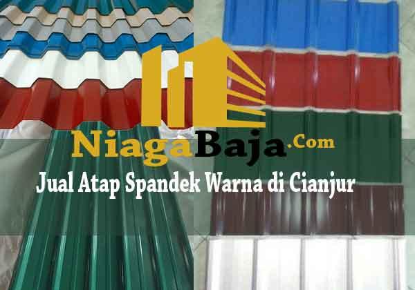 Jual Atap Spandek Warna di Cianjur - Harga Murah Berkualitas