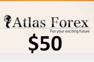 AtlasForex $50 Forex No Deposit Bonus