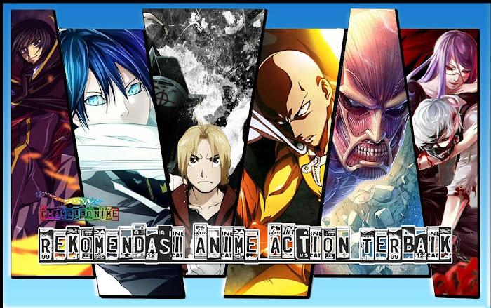 REKOMENDASI 5 Anime Bergenre Action Terbaik Dan Terpopuler