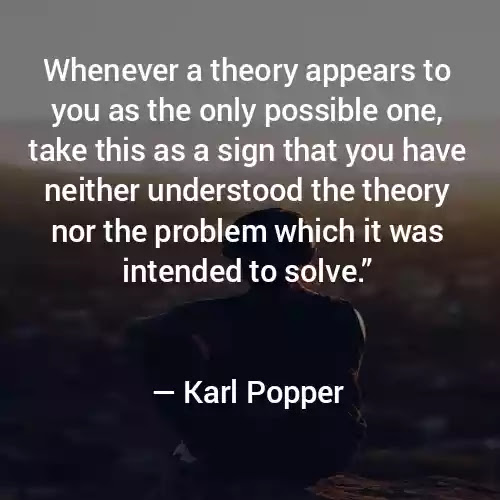 Karl Popper  sayings