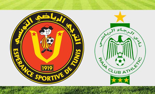 موعد مباراة الرجاء البيضاوي والترجي التونسي والقنوات الناقلة - دوري أبطال أفريقيا