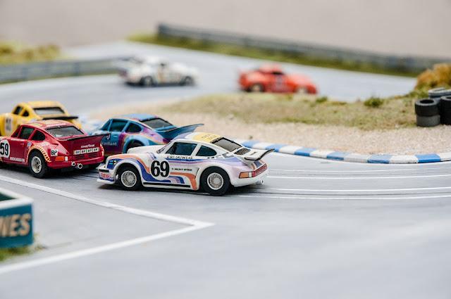 Slot Car h0 Custom Porsche 934 Le Mans 1976 Cluade Haldi
