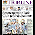 NAIJA NEWSPAPERS: TODAY'S THE TRIBUNE NEWSPAPER HEADLINES [20 OCTOBER, 2017].