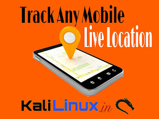 location tracking by Kali Linux