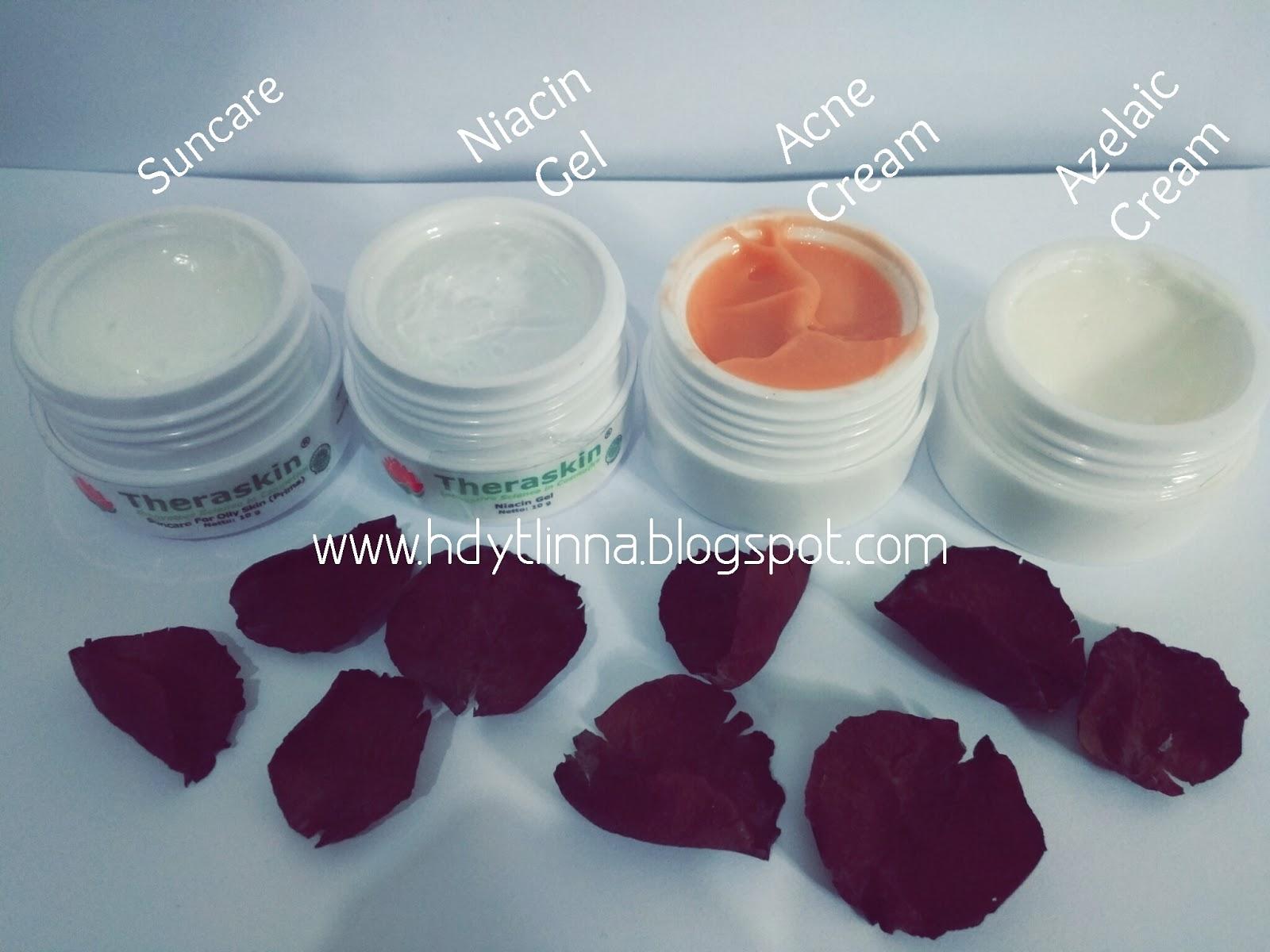 Review Theraskin Bye Acne Marlina Hidayati Powder Dokter Menjelaskan Cream Non Label Azelaic Acid 10 Niacinamide 4 Di Pakai Gantian Dengan Pada Malam Hari Kalau Pagi Niacin Gel