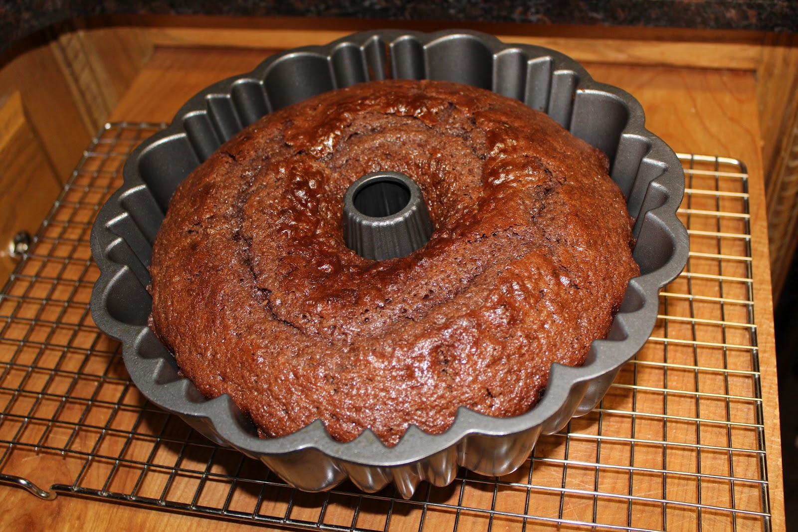 Michelle S Tasty Creations German Chocolate Bundt Cake