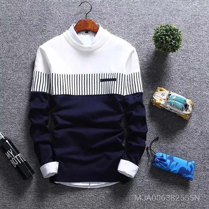 Jacket for Man | Mens Jacket Jumper Knit