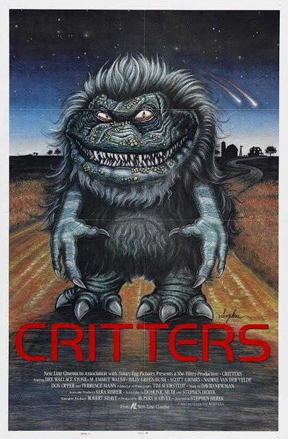 Póster original película Critters