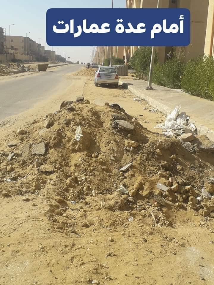أهالي المنطقة السابعة بحدائق أكتوبر يستغيثون  بالمسؤلين والنواب