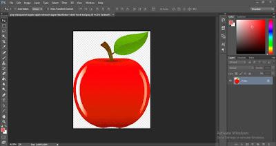 cara zoom in di photoshop