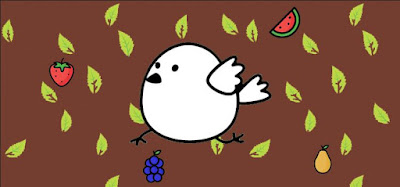 Q 9. Color bird wants to blend in with the background. Which fruits should they eat?
