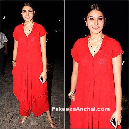 Anushka Sharma in Freaking Punjabi Outfit by Urvashi Kaur