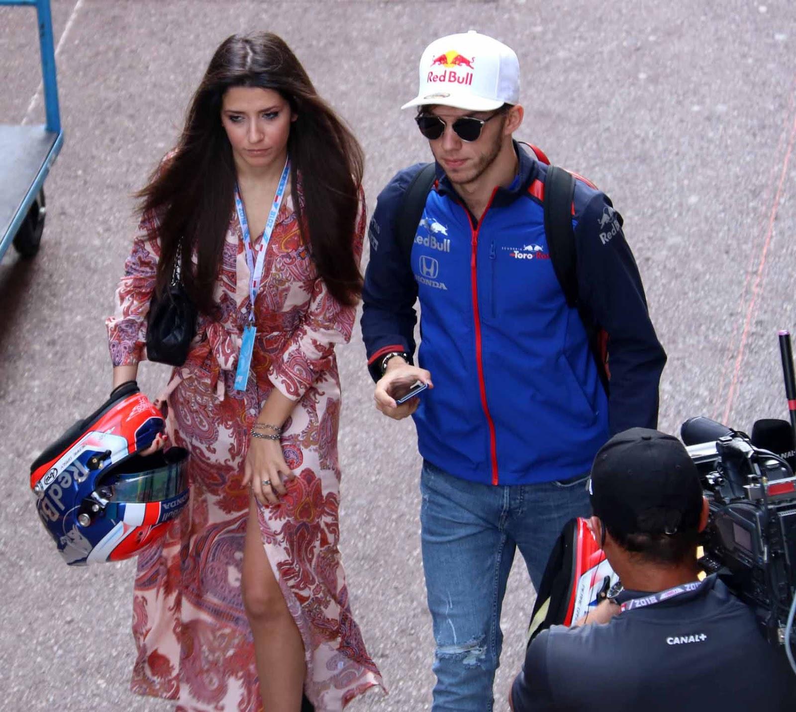 Gasly ajaa toista vuottaan F1:ssä Toro Rosso -tallin leivissä
